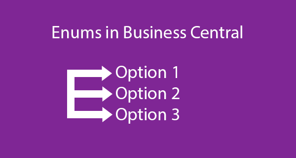 Enums in Business Central